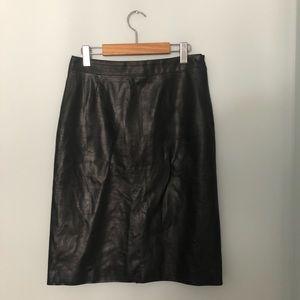 Vintage Tommy Hilfiger leather skirt